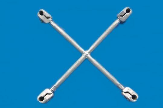 十字型阻尼间隔棒(JZX型)