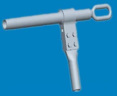 铝包钢芯铝绞线耐张线夹