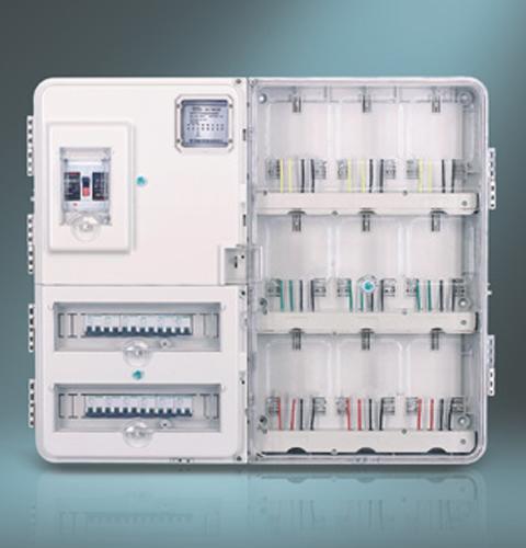 单相九位电子式电表箱