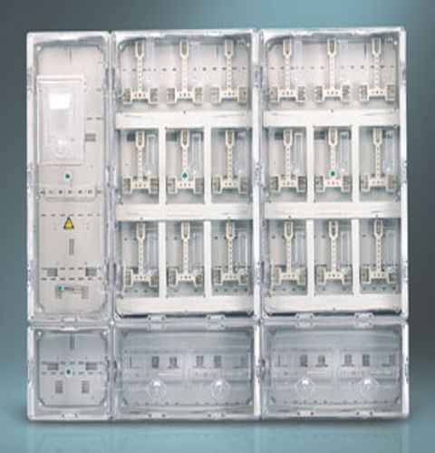 单相十八位插卡式电表箱